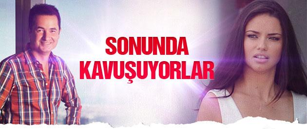 Acun'a müjde Adriana Lima İstanbul'a geliyor