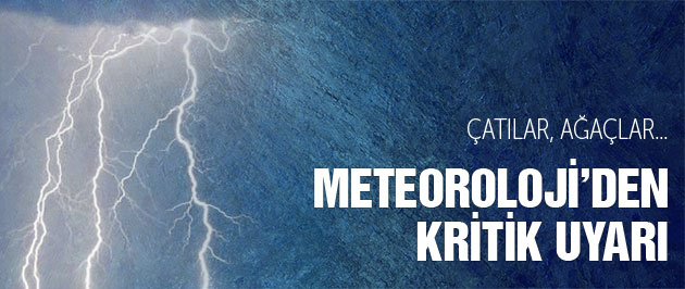 Hava durumu Marmara için kritik uyarı