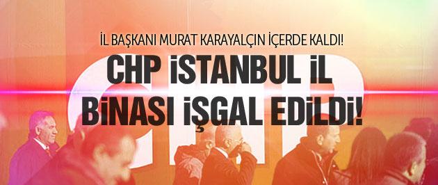 CHP İstanbul İl Binası işgal edildi!