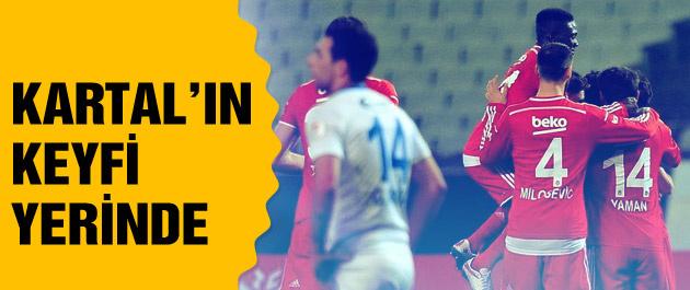 Beşiktaş Sarıyer maç sonucu ve özeti: 3-1