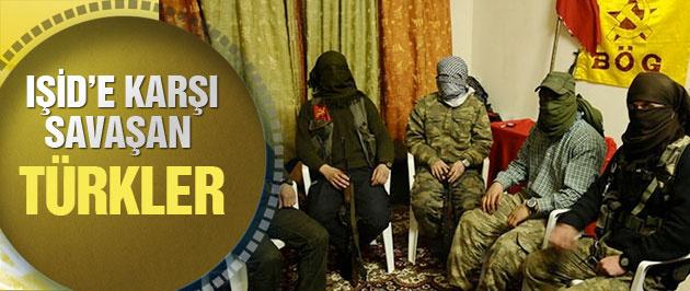 Kobani'de IŞİD'e karşı savaşan Türkler