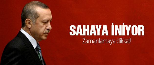 Erdoğan sahaya iniyor zamanlamaya dikkat!