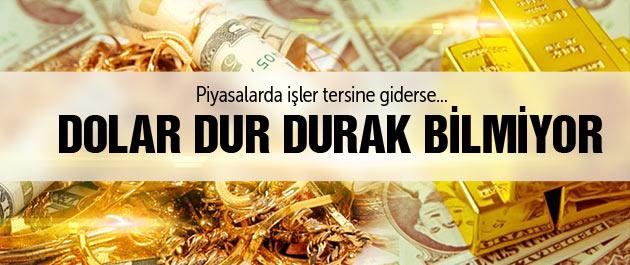 Dolar yeni zirve dolar ve altın fiyatları bugün saat 11.45 son fiyat