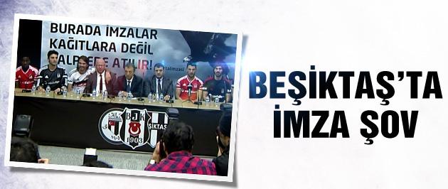 Beşiktaş'ta imza şov. 8 futbolcu birden...