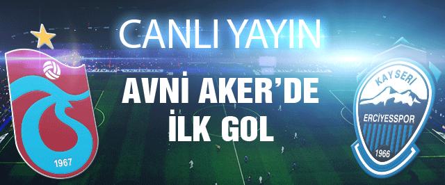 Trabzonspor Kayseri Erciyesspor maçı (CANLI YAYIN)