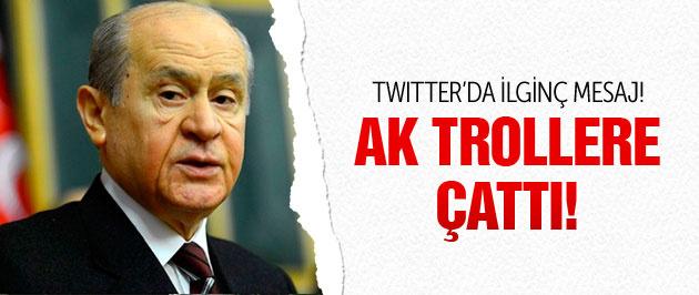 Bahçeli'den Twitter'da AK troller için ilginç mesaj!