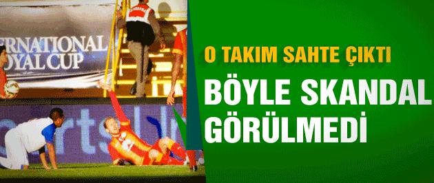 G.Saray ve Beşiktaş'la oynayan takım sahte çıktı