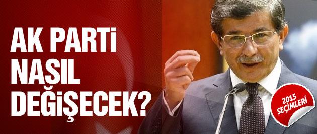 2015 genel seçim sonuçlarına göre AK Parti nasıl değişecek?