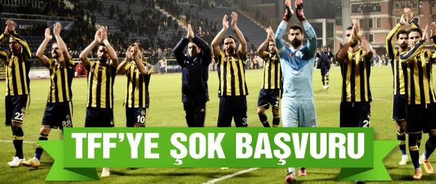 Fenerbahçe'den TFF'ye şok başvuru