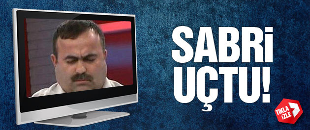 Uçan Adam Sabri canlı yayında 'uçtu'
