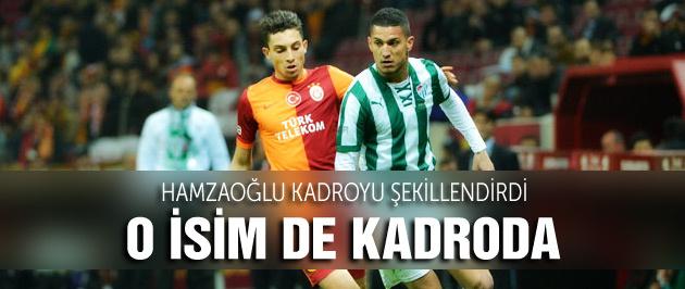 Galatasaray'ın konuğu Bursaspor