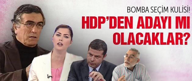 Ünlü gazeteciler HDP adayı mı olacak?