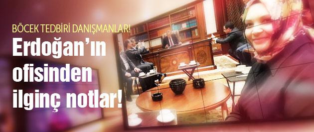 Yeni Şafak yazarı Erdoğan'ın çalışma odasından bildirdi!