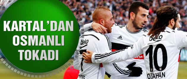 Beşiktaş (2-1) Mersin İdman Yurdu maç sonucu ve özeti
