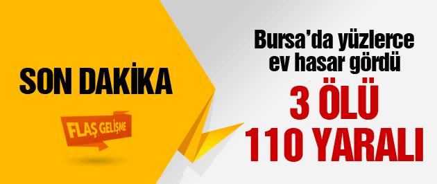 Bursa'da lodos 3 can aldı!