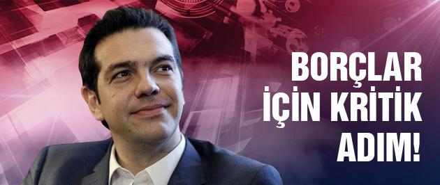 Syriza borçlar için masaya oturuyor