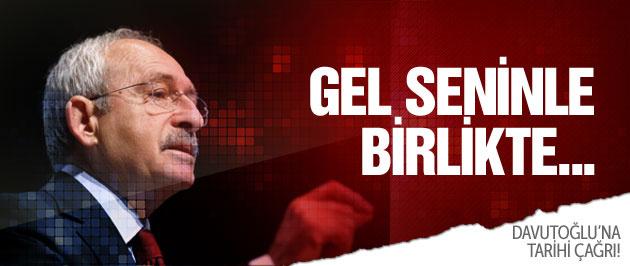 Kılıçdaroğlu'ndan Davutoğlu'na millet seçsin çağrısı!
