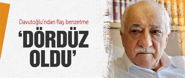 Başbakan Davutoğlu'ndan Gülen'e 'Dördüz oldu'
