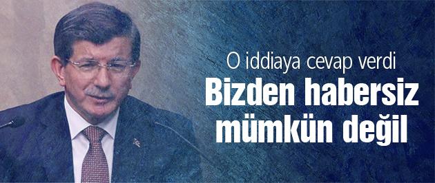Davutoğlu o iddialara cevap verdi!