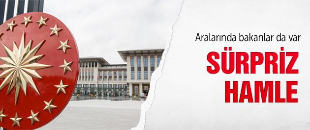 68 AK Partili vekil saraya çıktı