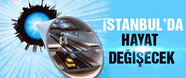 Başbakan Davutoğlu'ndan İstanbul'a mega proje müjdesi