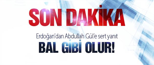 Erdoğan'dan Abdullah Gül'e net Başkanlık yanıtı