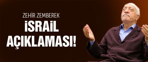 Fethullah Gülen'den çok sert İsrail açıklaması