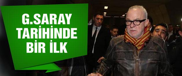 Galatasaray tarihinde bir ilk yaşandı