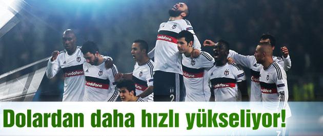 Beşiktaş'ın yükselişi doları kıskandırdı