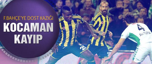 Torku Konyaspor: 1-1 :Fenerbahçe (Maç sonucu ve özeti)
