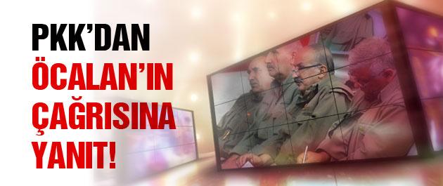 PKK'dan Öcalan'ın çağrısına yanıt! FLAŞ!