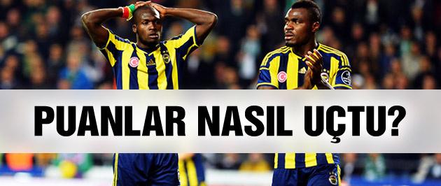 Fenerbahçe'de 7 puan nasıl uçtu?