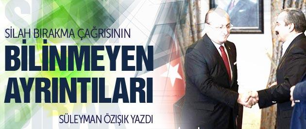 Öcalan'ın çağrısının perde arkası!