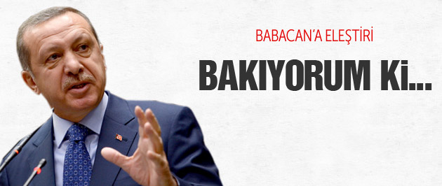Erdoğan Babacan'ı böyle eleştirdi