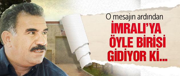 Öcalan'ı ziyarete öyle bir isim gidiyor ki!