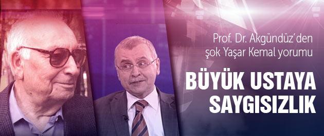 Yaşar Kemal hakkında şok yorum!