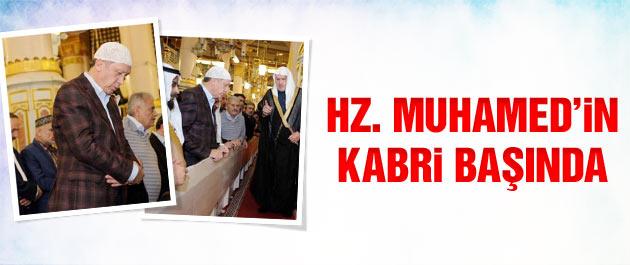 Erdoğan Hz. Muhammed'in kabri başında