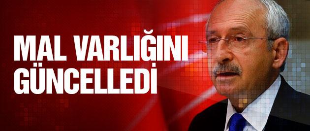 Kemal Kılıçdaroğlu mal varlığını güncelledi