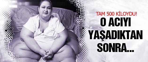 500 kiloluk kadının inanılmaz başarısı