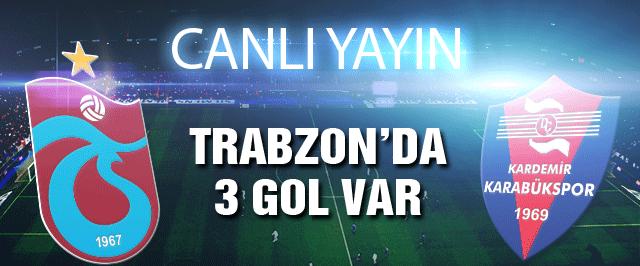 Trabzonspor Karabükspor'u ağırlıyor