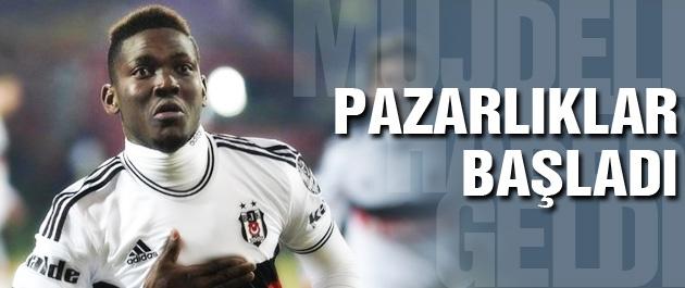 Beşiktaş'ta Opare için pazarlıklar başladı