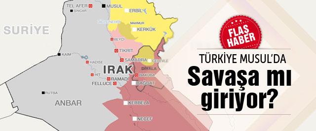 Musul son dakika Türkiye uçak yolladı