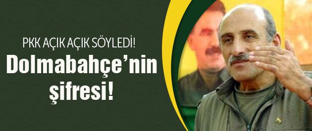 PKK'dan en net Dolmabahçe açıklaması!