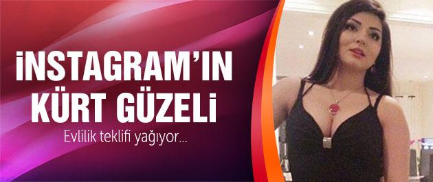 Şebnem Barani İnstagram'ın Kürt güzeli yıktı geçti