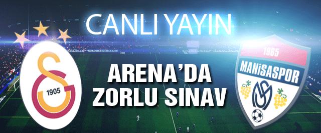 Galatasaray rövanş için avantaj peşinde