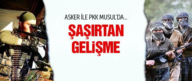 Mehmetçik ve PKK aynı safta  savaşacak