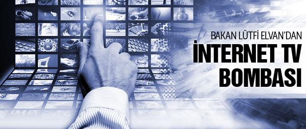 Lütfi Elvan'dan internet televizyonu müjdesi