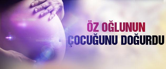 Öz oğlunun çocuğunu doğurdu İnanılmaz hamilelik!