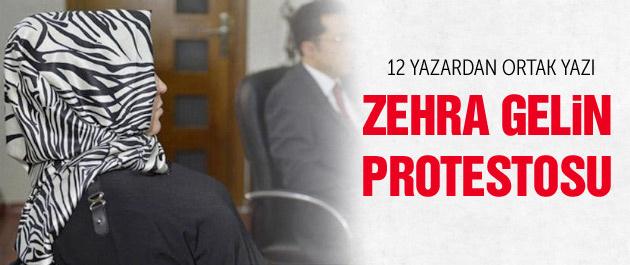 12 yazar Zehra gelin için aynı başlığı attı