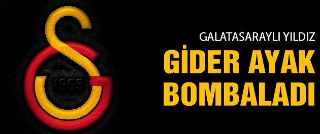 Galatasaraylı eski yıldız bombaladı!